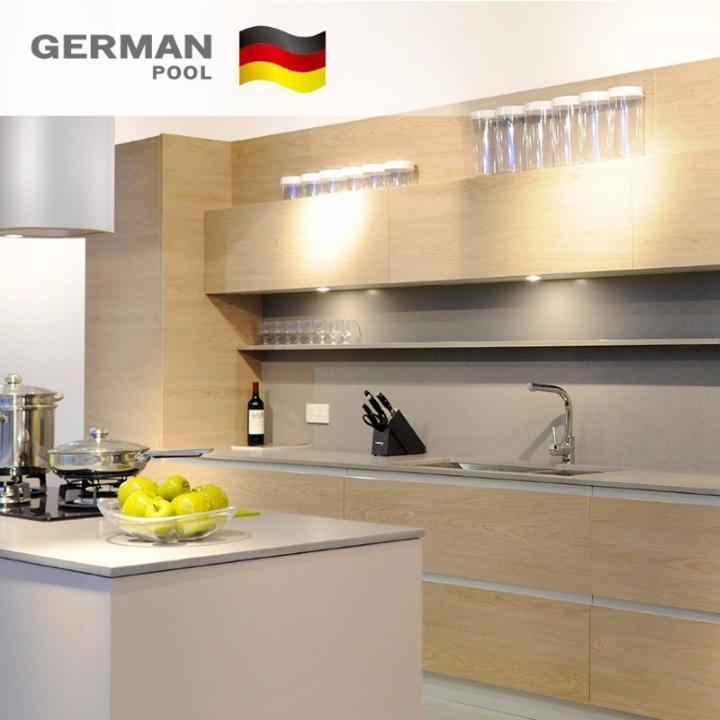 德国宝德国宝高级橱柜 简洁木纹系列简约风格橱柜图片