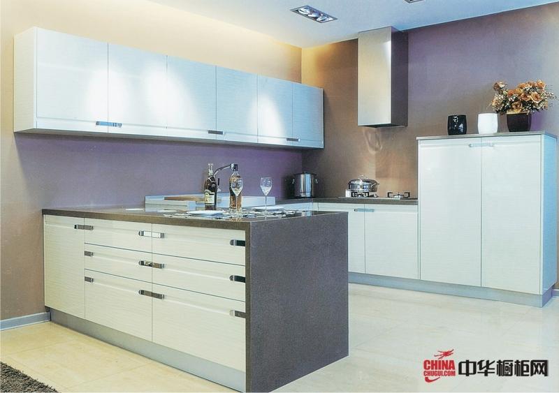 澳蓝特橱柜厨房装修效果图 简约风格整体橱柜图片