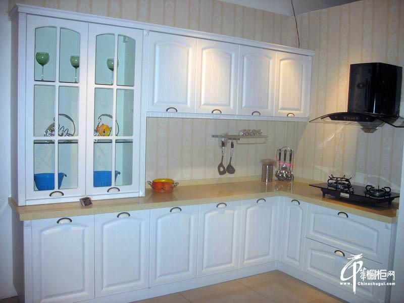 扬子厨柜模压吸塑欧式橱柜效果图