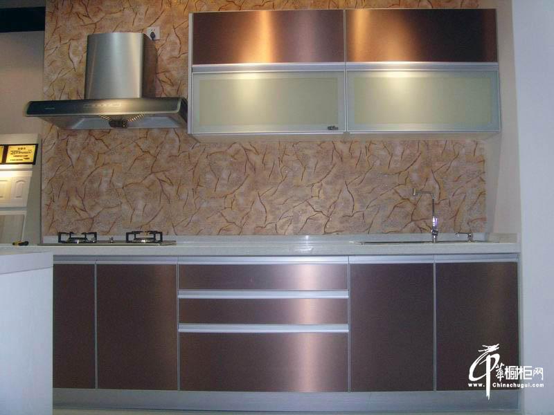 扬子厨柜金属面板橱柜效果图