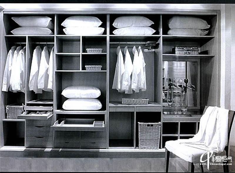 扬子橱柜整体衣柜效果图
