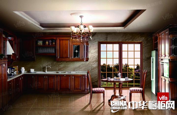 威法高端厨柜威尼斯 古典风格橱柜图片