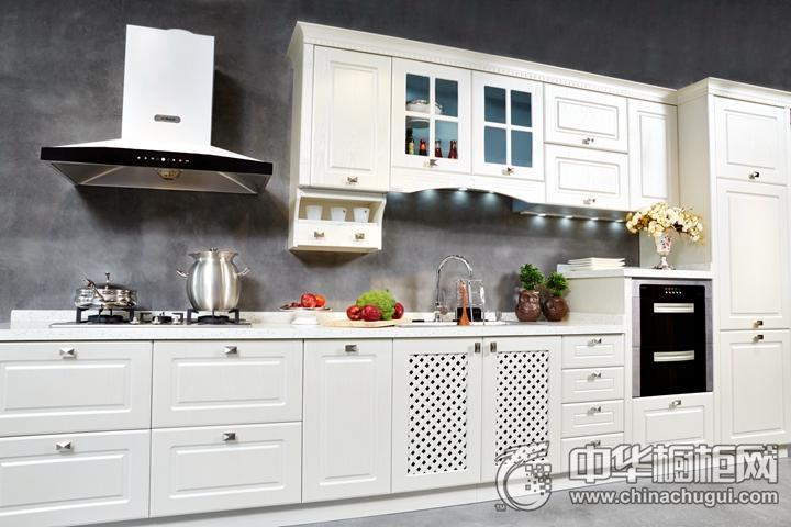 安泊厨柜阿尔卑斯效果图 简约风格橱柜图片