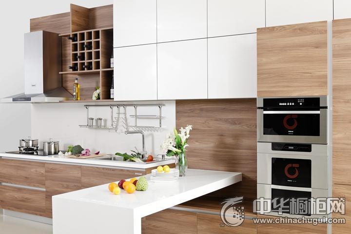 安泊厨柜浮力森林效果图 简约风格橱柜图片