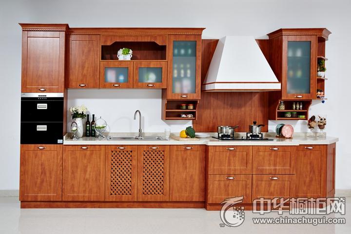 安泊厨柜西江月效果图 简约风格橱柜图片