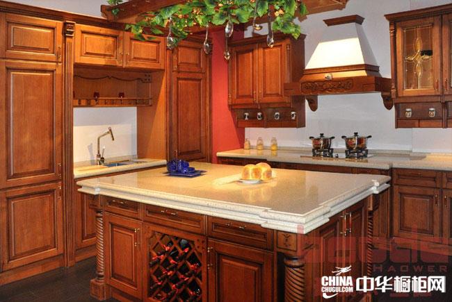 欧式古典风格豪威尔·宝德橱柜图片——阿德莱 整体橱柜装修效果图 实木橱柜选用纯天然木材
