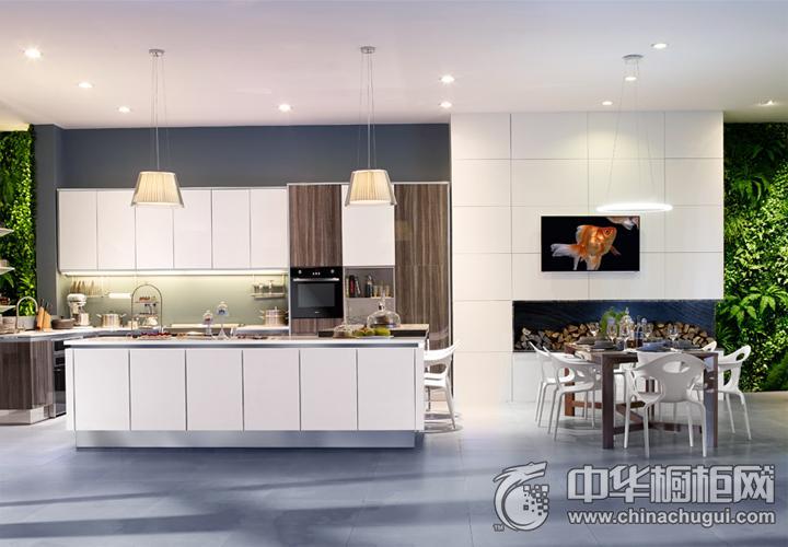 时哥电厨房效果图 简约风格橱柜图片