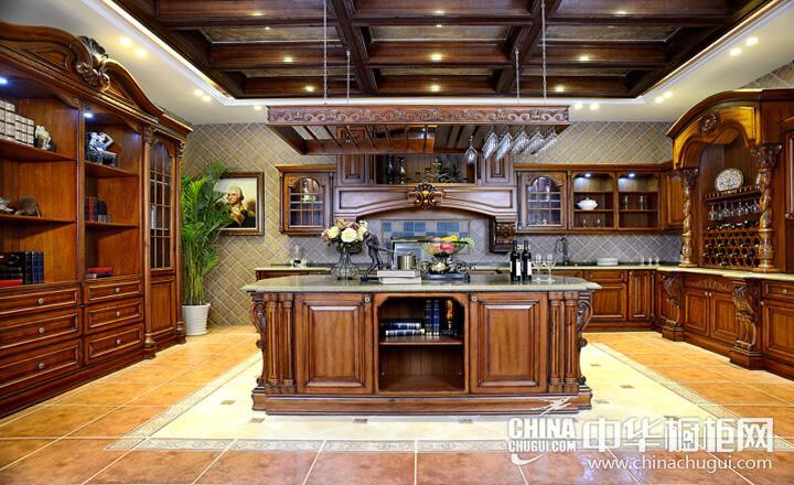 巨迪厨柜至尊大帝 古典风格橱柜图片