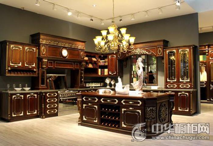 森美厨柜森美厨柜凡尔赛宫系列 古典风格橱柜图片