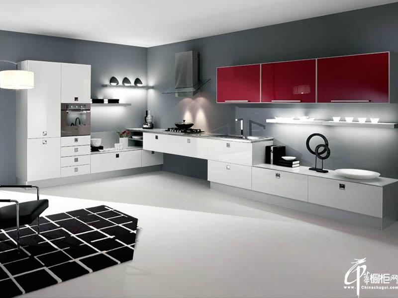 典雅现代简约风格橱柜设计图