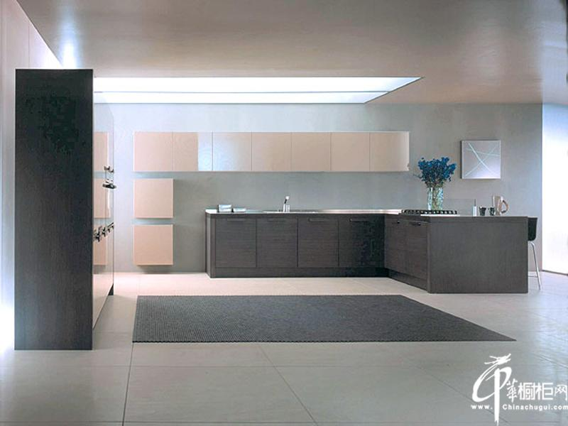 现代欧式风格橱柜设计图