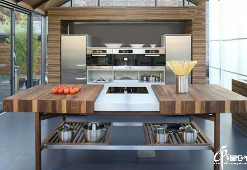 极简主义木制橱柜设计图