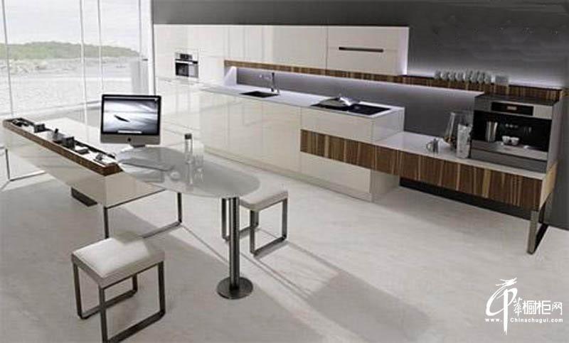 现代简约直线厨橱柜设计图