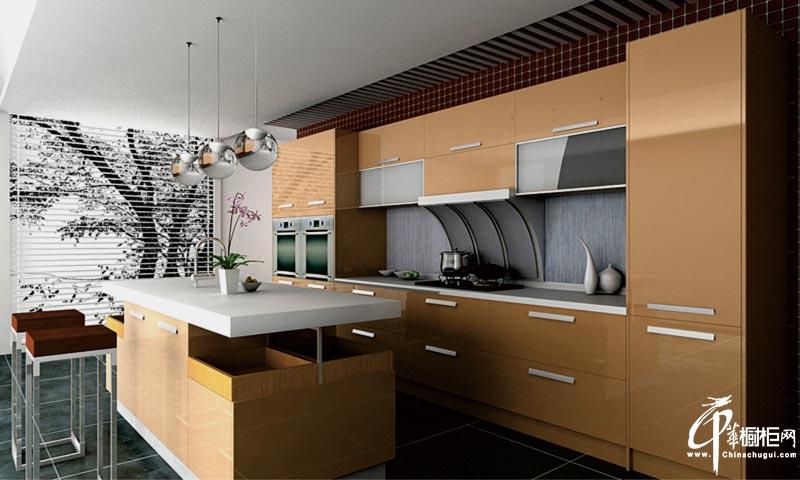 厨房装修橱柜效果图表现