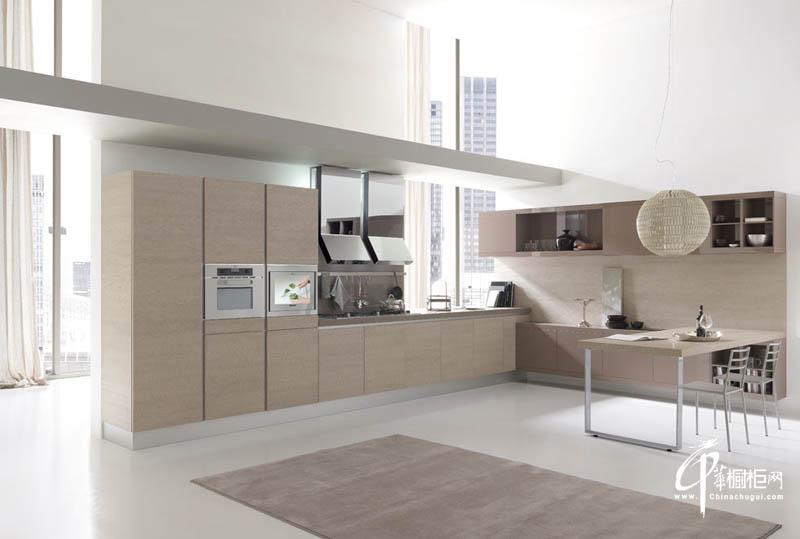 大型厨房橱柜设计效果图