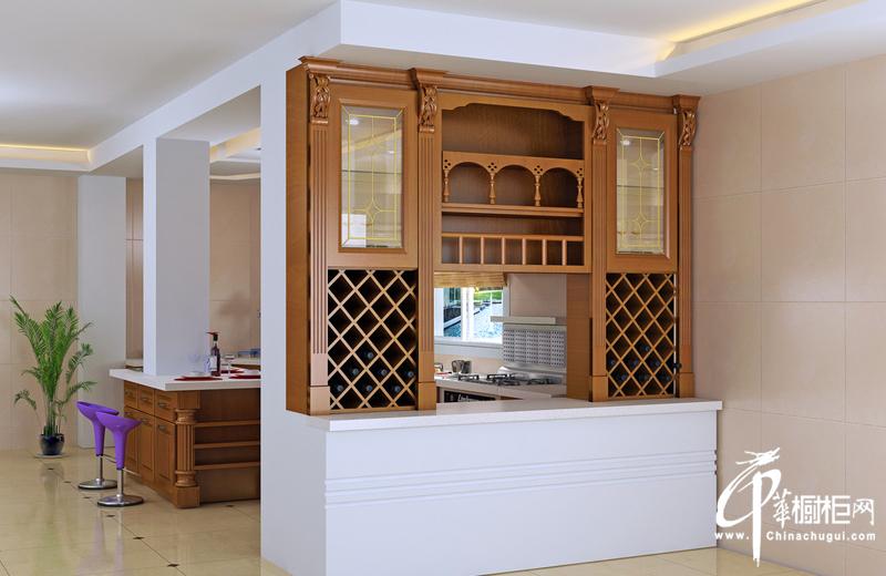 古典风格橱柜装修设计效果图