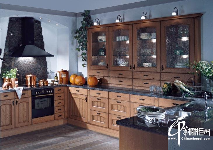 整体橱柜设计效果图 欧式厨房装修效果图欣赏