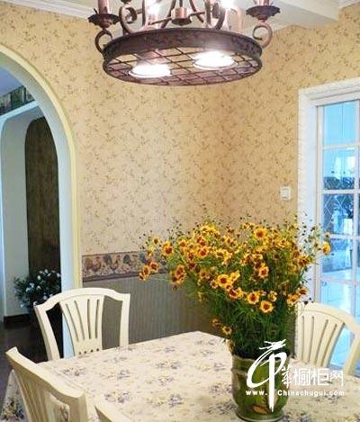 欧式厨房装修设计 打造唯美田园风格厨房