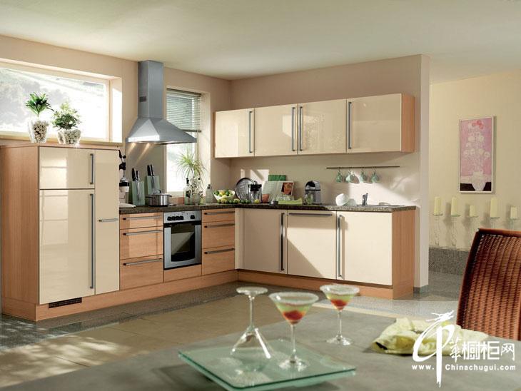 整体橱柜设计效果图片 英式田园风格厨房鸟语花香