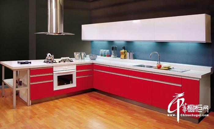 整体橱柜装修图片 厨房装修效果图冲刺着一股张扬的气场
