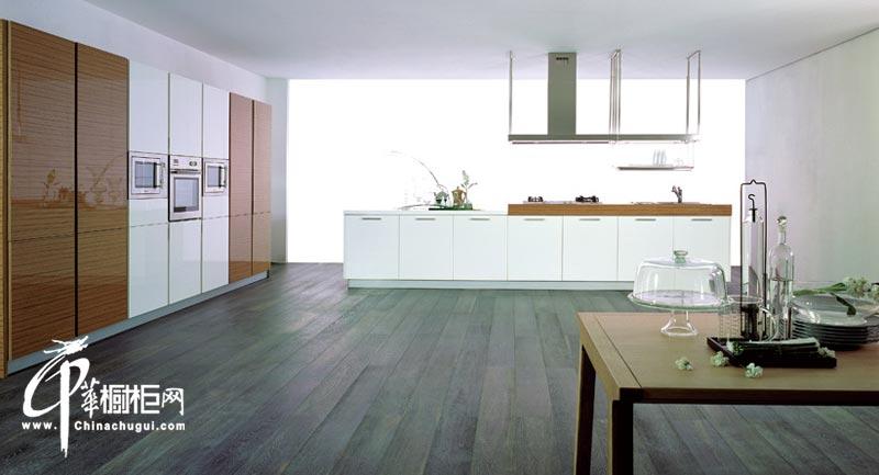 白色田园橱柜装修图片 厨房空间自然粹炼之极简