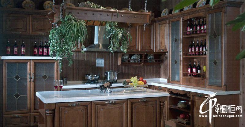 厨房橱柜装修效果图|厨房装修效果图大全2012图片|实木橱柜图片