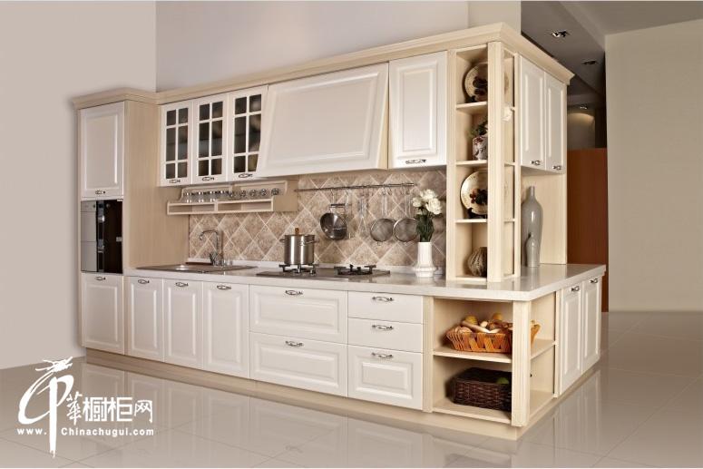 格林小调——厨之宝整体厨房装修效果图 欧式整体橱柜装修图片