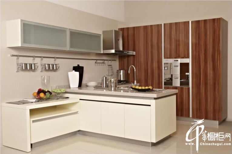 荷塘月色——厨之宝整体厨房装修效果图大全2012图片 整体橱柜装修图片
