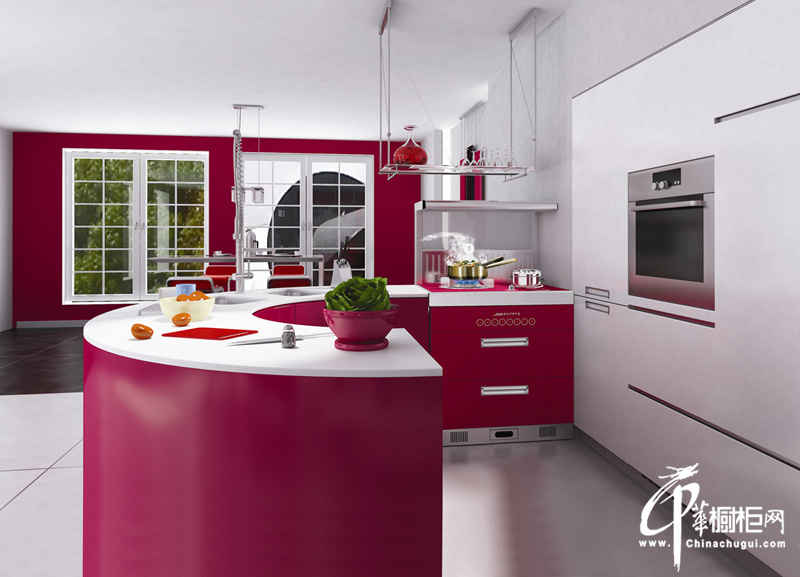 厨壹堂整体厨房ⅰ系易格集成系列 橱柜效果图片欣赏