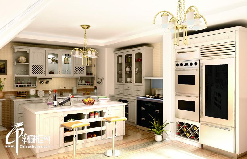 厨壹堂整体厨房 ⅴ系名流集成系列整体橱柜图片|欧式橱柜图片|厨房装修效果图片展示