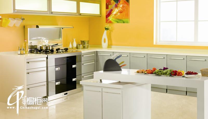 厨壹堂整体厨房橱柜/简约时尚橱柜图片 2012厨房装修效果图展示