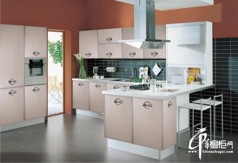简约风格橱柜装修设计图片 时尚厨房装修效果图欣赏