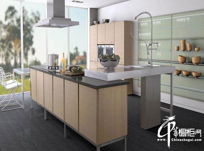简约风格整体橱柜装修图片 开放式厨房装修效果图大全2012图片