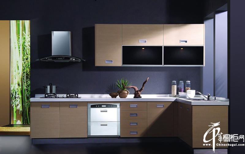 简约风格橱柜装修效果图 L型厨房装修效果图大全2012图片