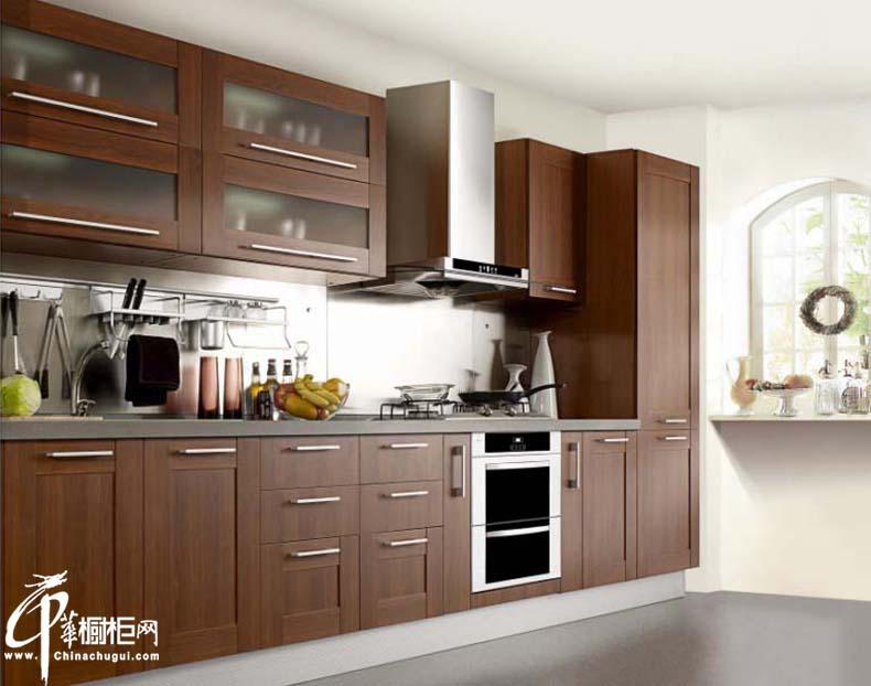 古典风格橱柜装修效果图 厨房装修效果图大全2012图片
