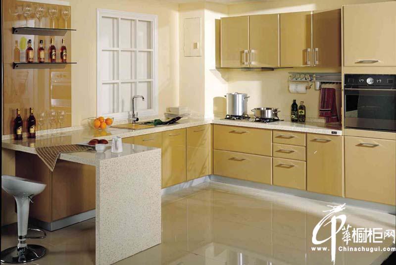 l型风格橱柜装修效果图 l型厨房装修效果图大全2012图片