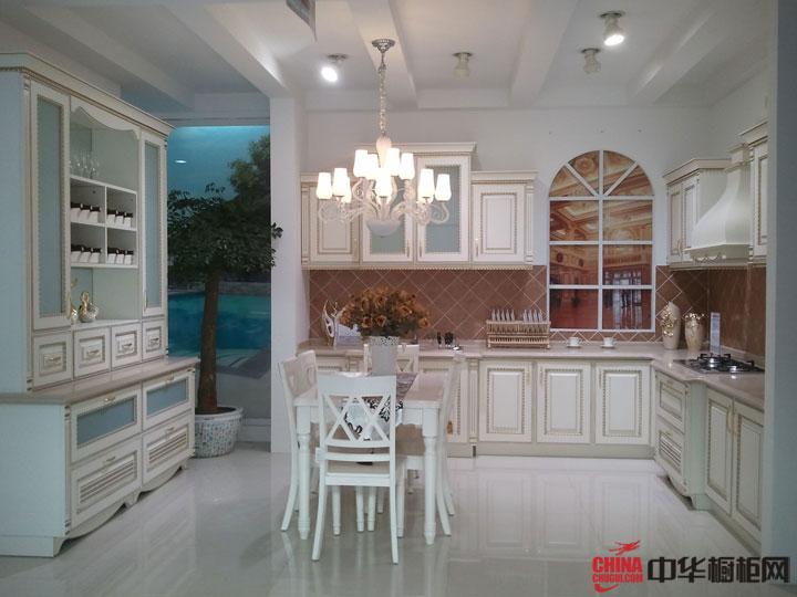 新古典主义——爱得整体厨房装修效果图大全2012图片-欧式古典风格整体橱柜图片欣赏