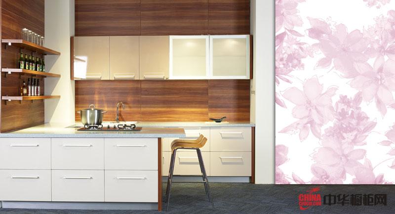 田园风格橱柜设计效果图 厨房装修乡村气息浓郁