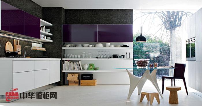 时尚厨房装修效果图大全2012图片 l型整体橱柜装修设计图片