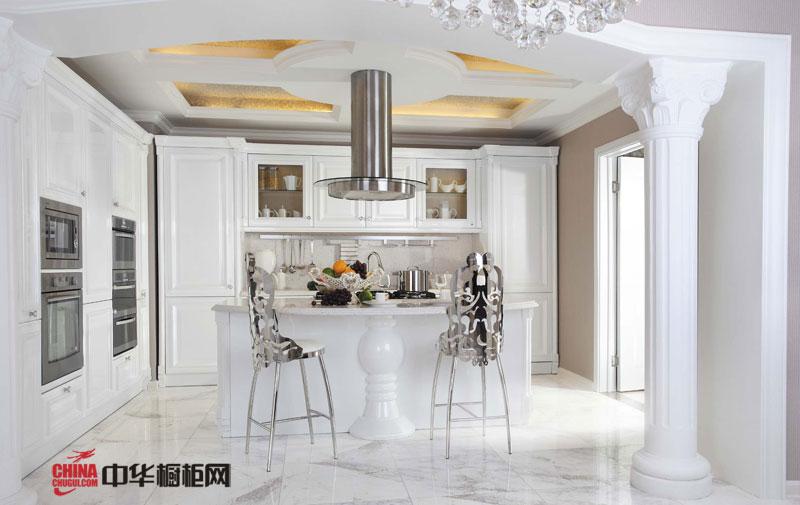 托斯卡纳——好兆头橱柜2012最新款整体橱柜 实木橱柜图片 白色整体橱柜设计效果图展现北欧风情