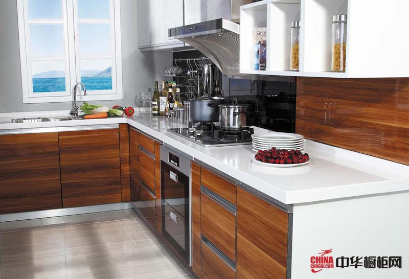 好兆头橱柜香榭丽舍——现代简约风格厨房装修效果图