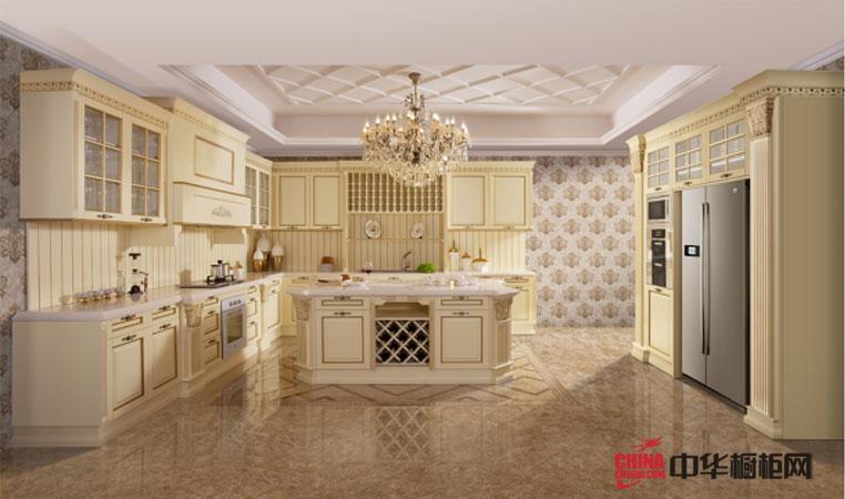 海尔橱柜图片——格林威治 欧式橱柜图片 古典风格厨房装修效果图大全2012图片