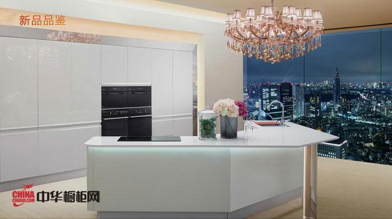 欧派橱柜图片——钢琴烤漆橱柜图片 简约风格厨房装修效果图大全2012图片 整体橱柜图片展示产品感性大气