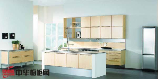 田园风格整体橱柜效果图 明净的厨房装修效果图大全2012图片|2012年
