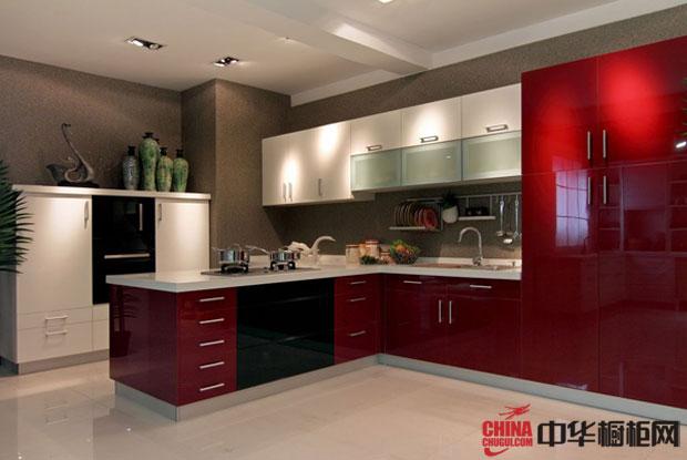 现代简约风格开放式厨房装修效果图大全2012图片欣赏