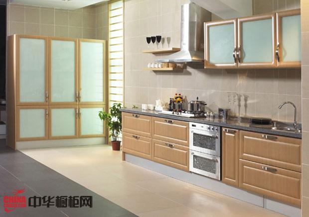 乡村风格厨房装效果图 一字型小户型厨房装修效果图大全2012图片展示静谧的田园风情
