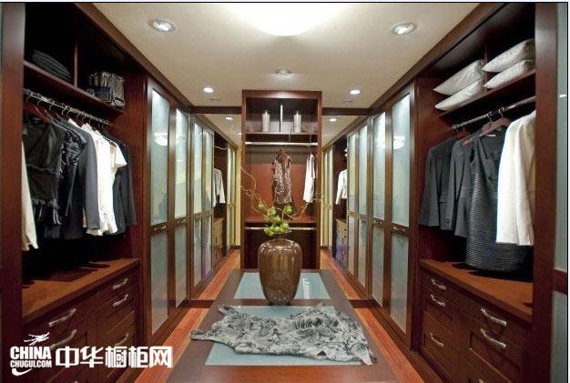 实木衣柜图片 整体衣柜设计效果图欣赏