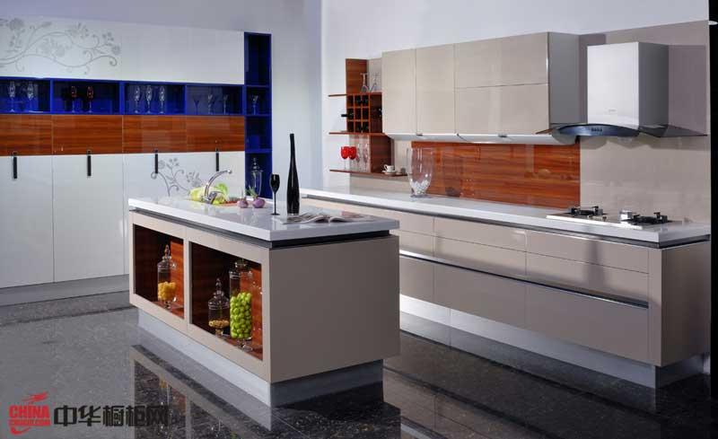 中国橱柜十大品牌德福诺橱柜图片铂金PB-A——2012整体橱柜图片 简约风格厨房装修效果图大全2012图片