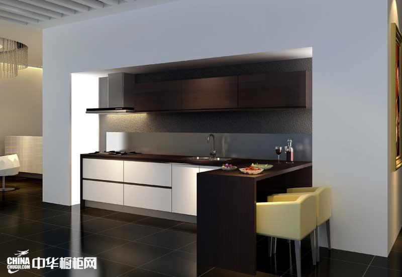 2012年烤漆橱柜图片|高档整体橱柜装修效果图欣赏 现代简约风格厨房装修效果图打造时尚潮流生活