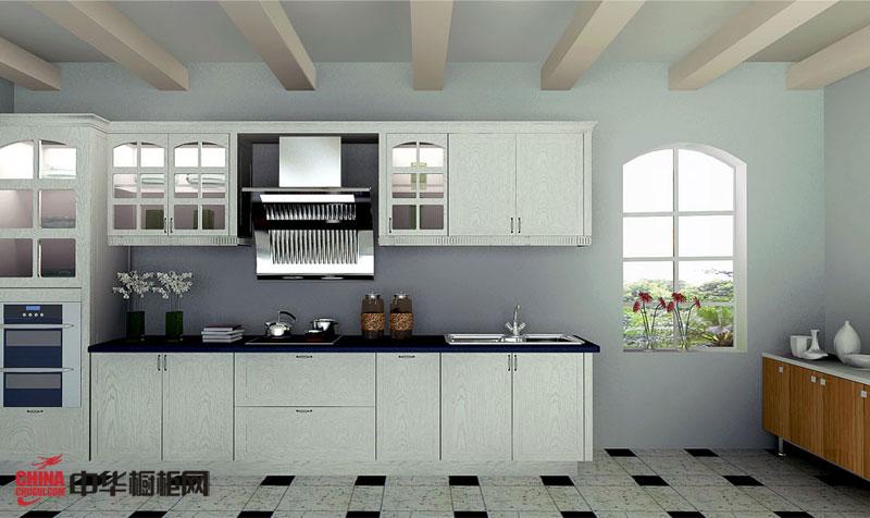 大自然温莎堡橱柜图片 梦凡拉——白色简欧风格整体橱柜图片 2012最新款整体实木橱柜图片